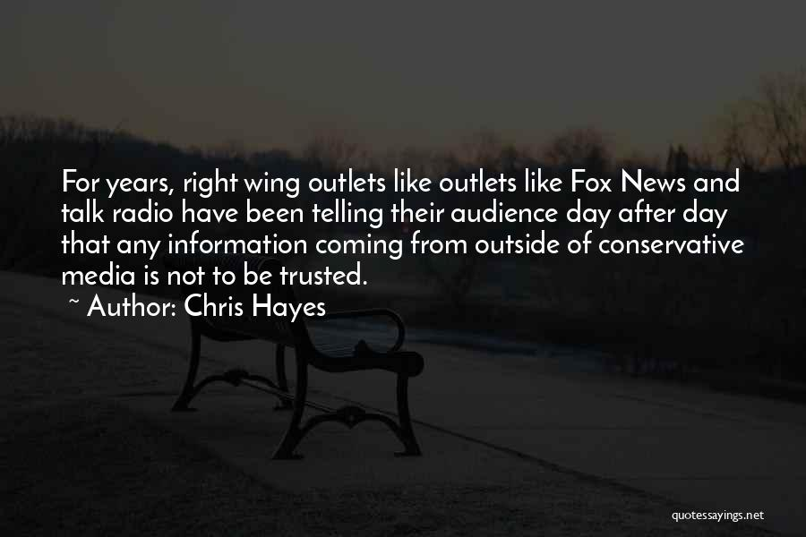 Day Wing Quotes By Chris Hayes