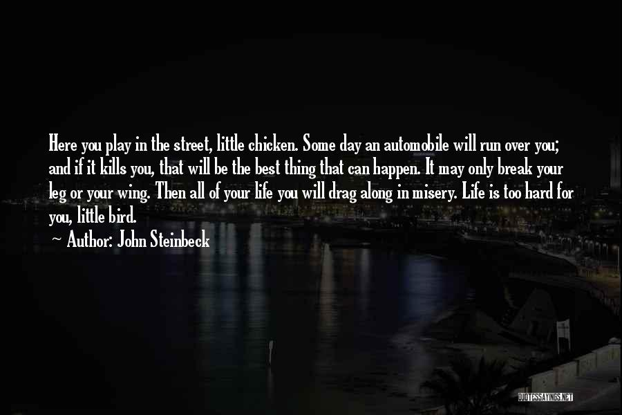 Day Wing Quotes By John Steinbeck