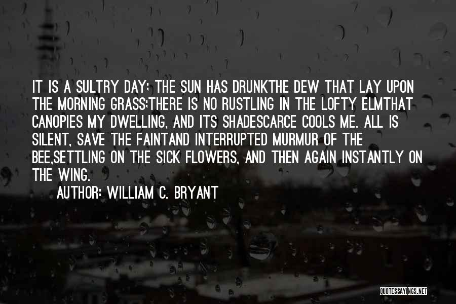 Day Wing Quotes By William C. Bryant