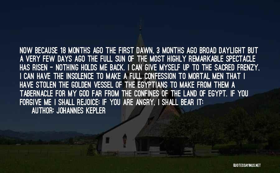 Daylight Robbery Quotes By Johannes Kepler