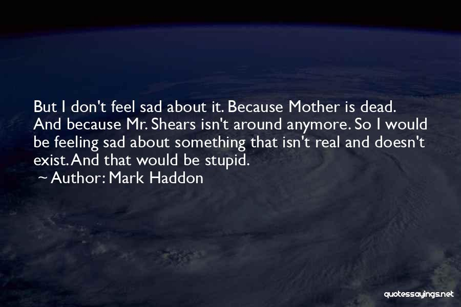 Dead And Stupid Quotes By Mark Haddon