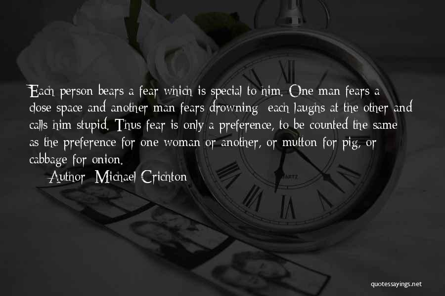 Dead And Stupid Quotes By Michael Crichton