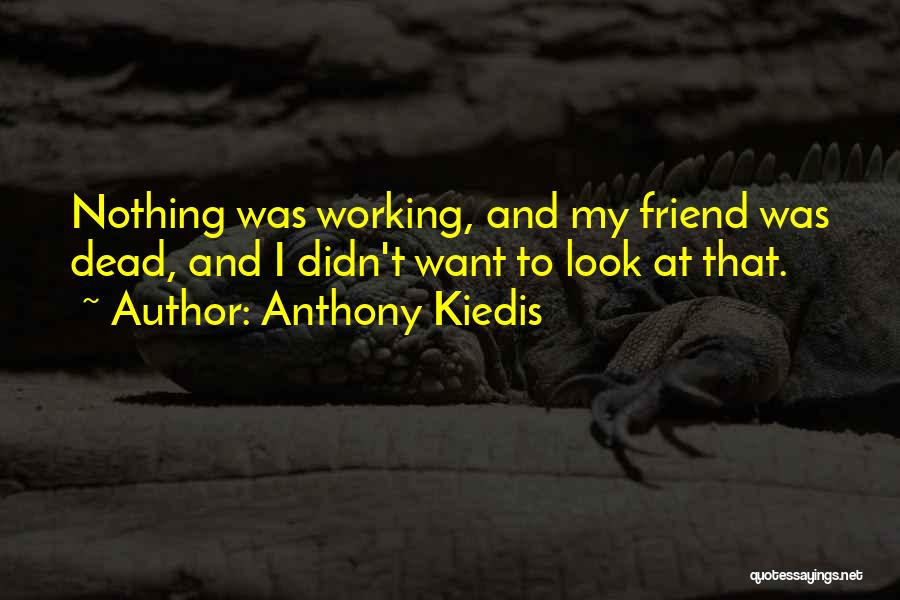 Dead Friend Quotes By Anthony Kiedis