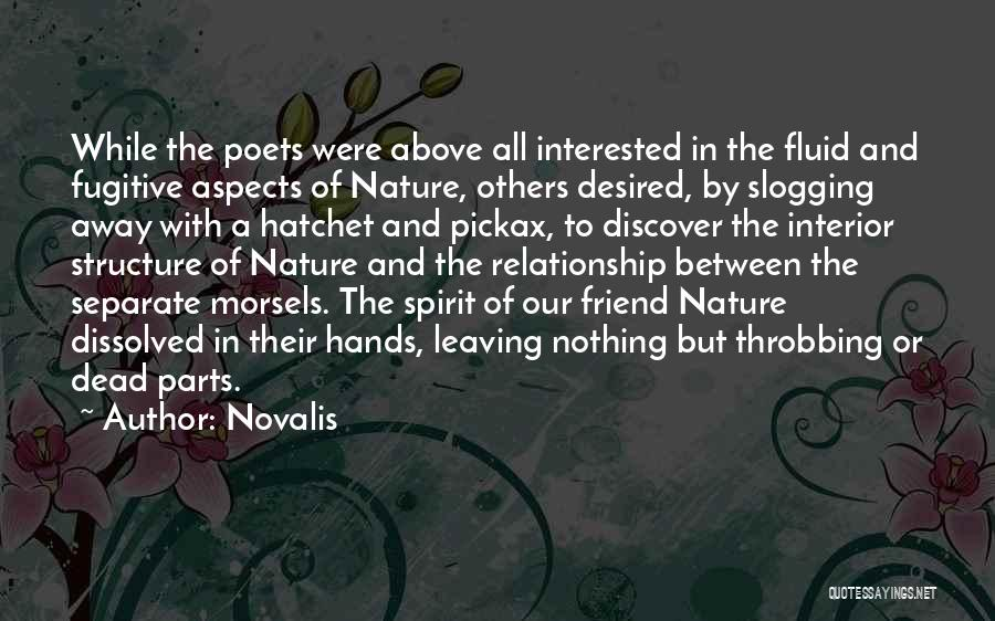 Dead Friend Quotes By Novalis
