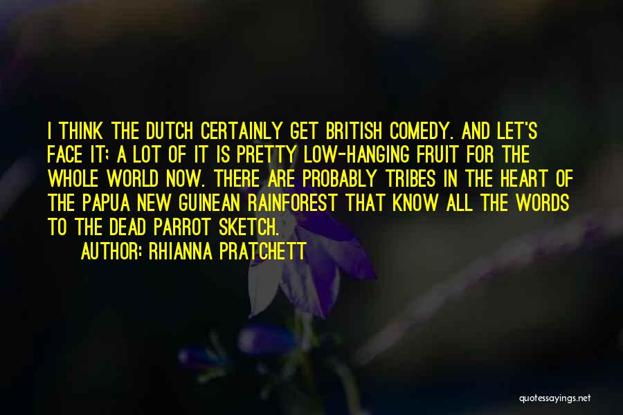 Dead Parrot Sketch Quotes By Rhianna Pratchett