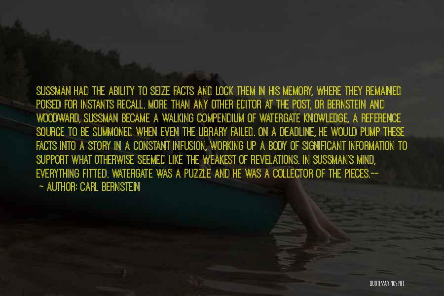Deadline Quotes By Carl Bernstein