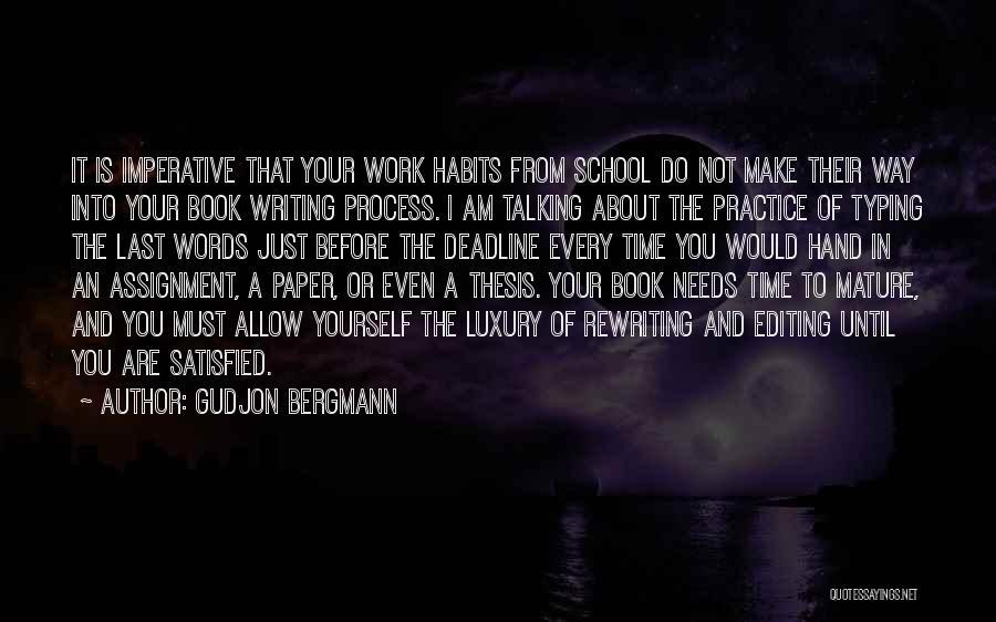 Deadline Quotes By Gudjon Bergmann