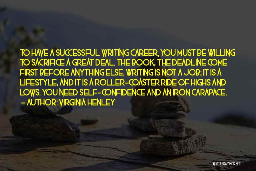 Deadline Quotes By Virginia Henley