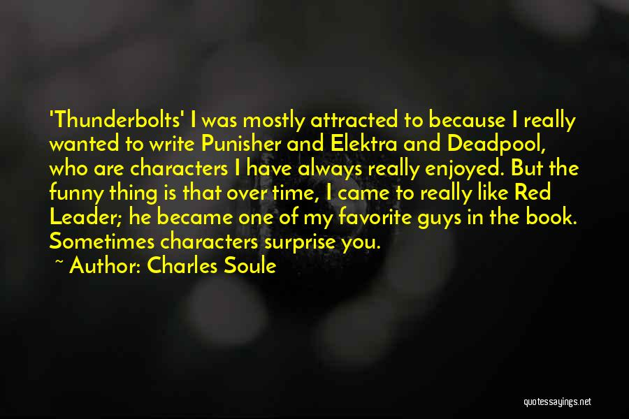 Deadpool Funny Quotes By Charles Soule