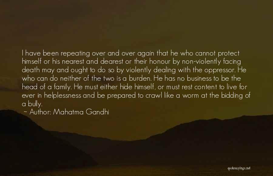 Dealing With Death Quotes By Mahatma Gandhi