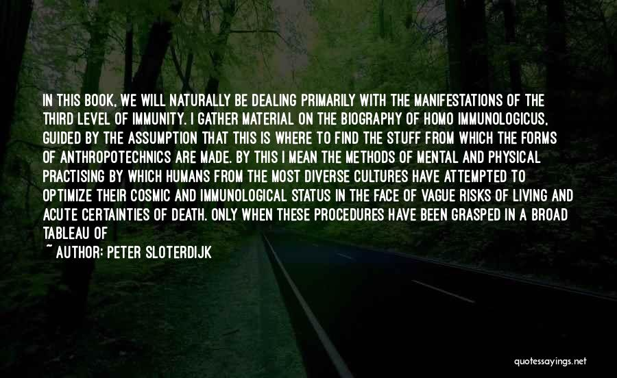 Dealing With Death Quotes By Peter Sloterdijk