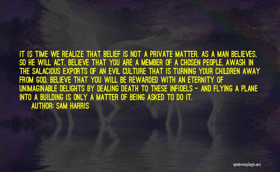 Dealing With Death Quotes By Sam Harris