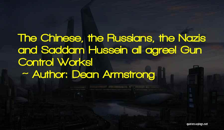 Dean Armstrong Quotes 313423