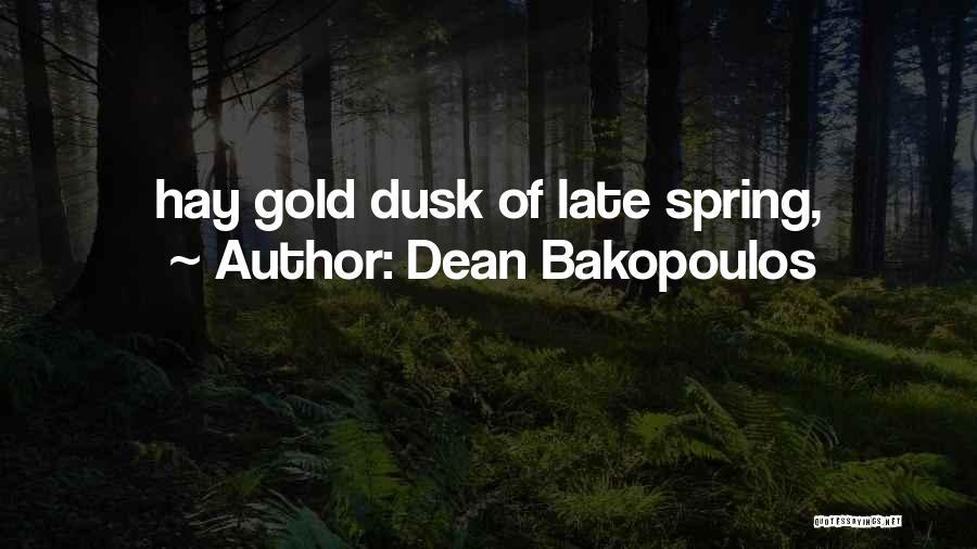 Dean Bakopoulos Quotes 2225100