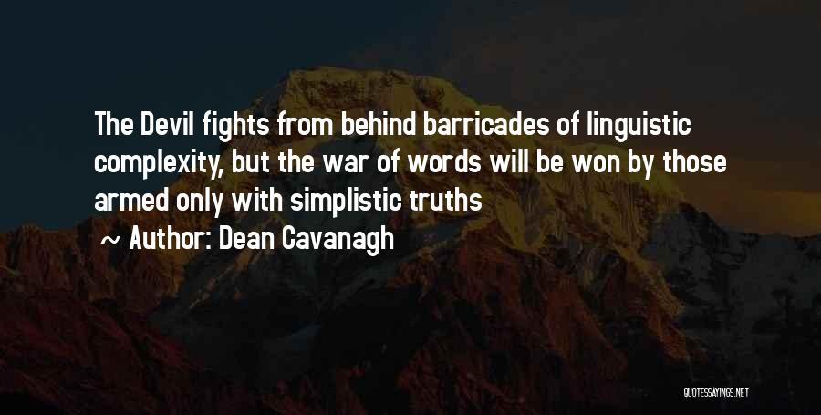 Dean Cavanagh Quotes 883692