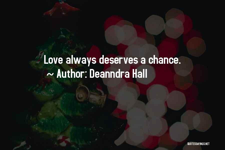 Deanndra Hall Quotes 1810133