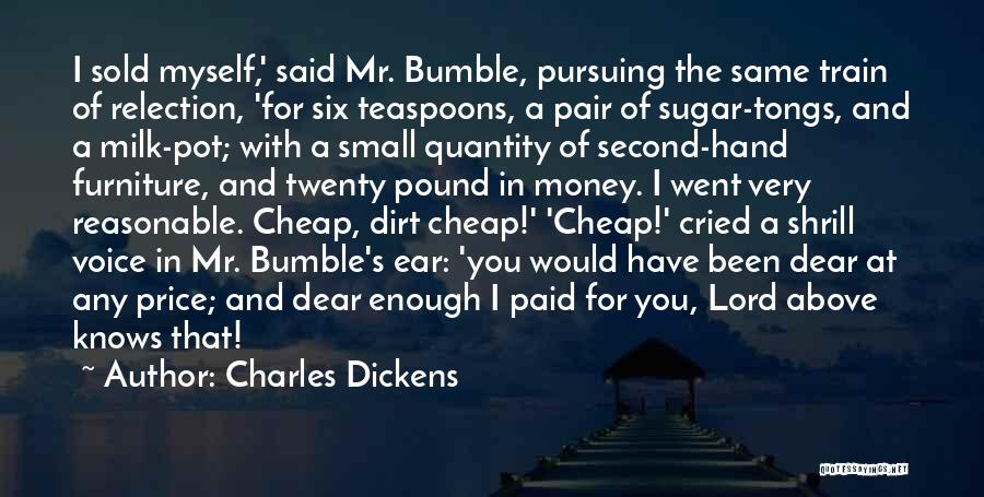 Dear Sugar Quotes By Charles Dickens