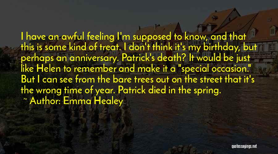 Death Anniversary Quotes By Emma Healey