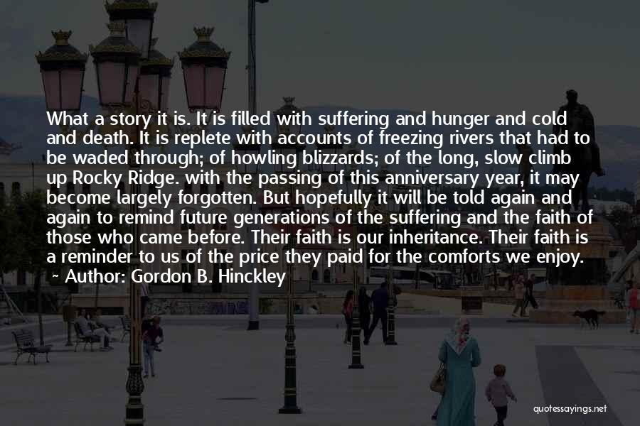 Death Anniversary Quotes By Gordon B. Hinckley
