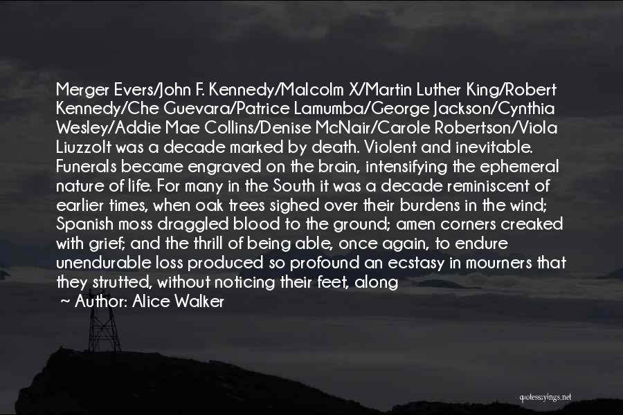 Death Being Inevitable Quotes By Alice Walker