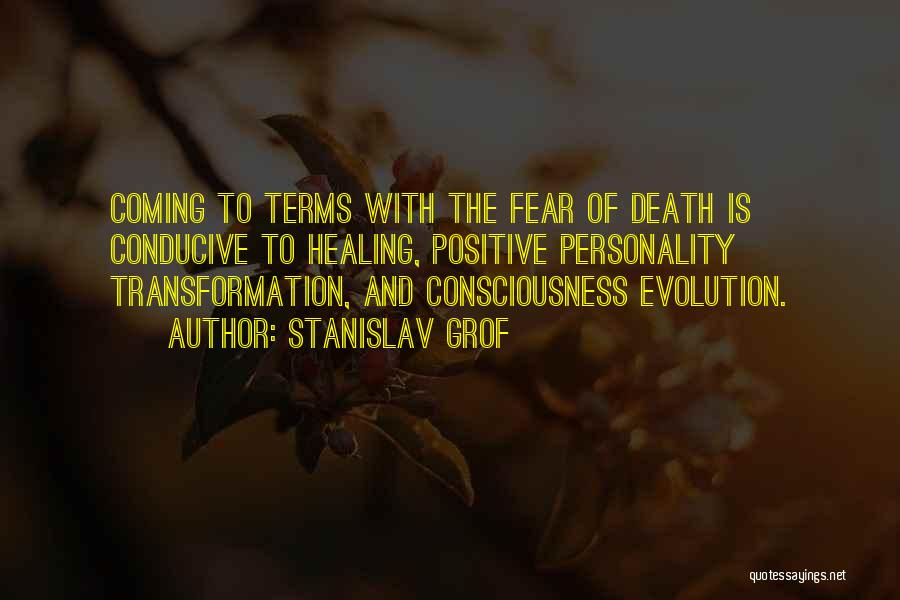 Death Coming Too Soon Quotes By Stanislav Grof