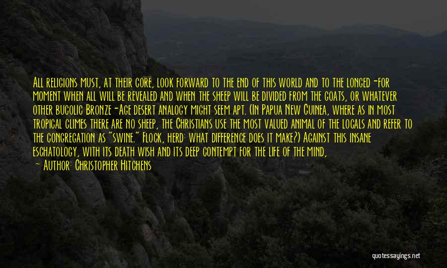 Death End Of Life Quotes By Christopher Hitchens