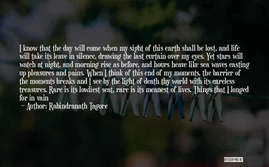 Death End Of Life Quotes By Rabindranath Tagore