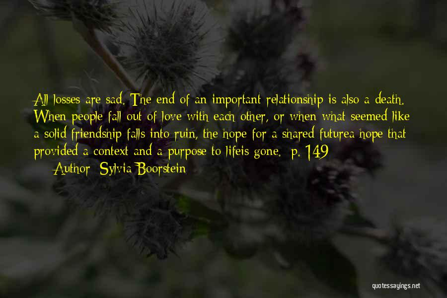 Death End Of Life Quotes By Sylvia Boorstein