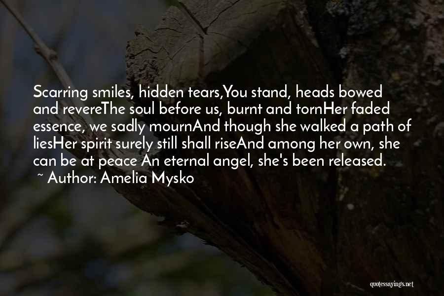 Death Eulogy Quotes By Amelia Mysko