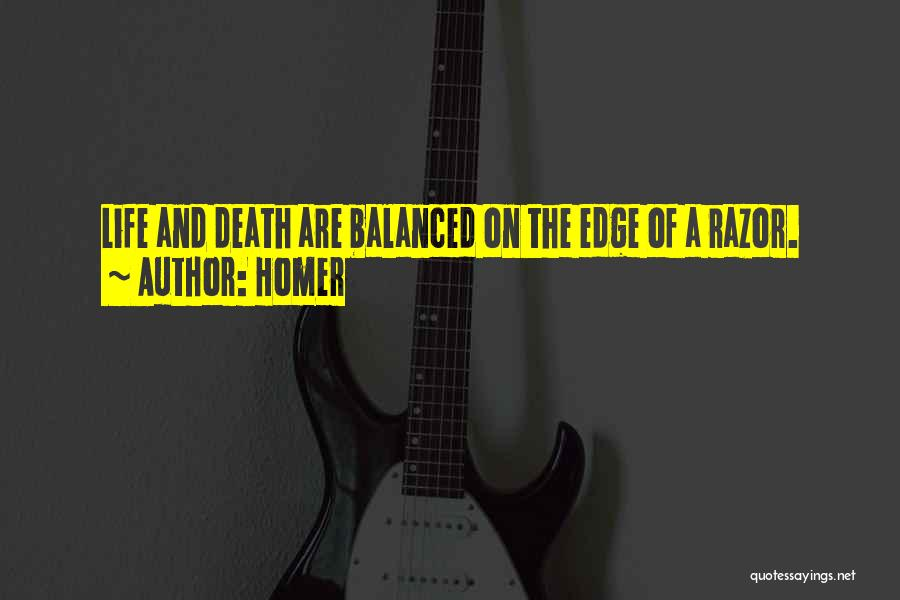 Death Eulogy Quotes By Homer