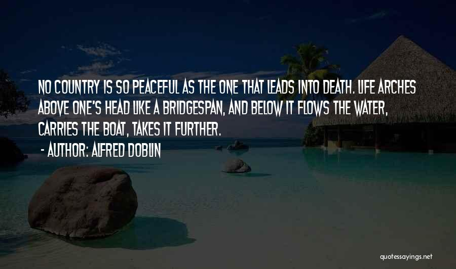 Death Head Quotes By Alfred Doblin