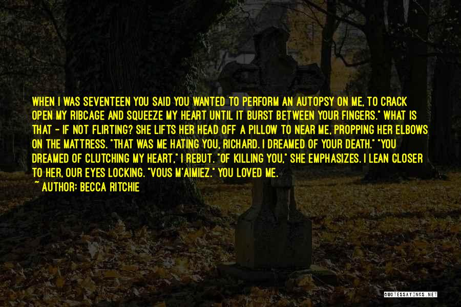 Death Head Quotes By Becca Ritchie