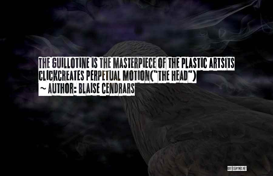 Death Head Quotes By Blaise Cendrars