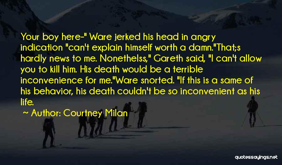 Death Head Quotes By Courtney Milan
