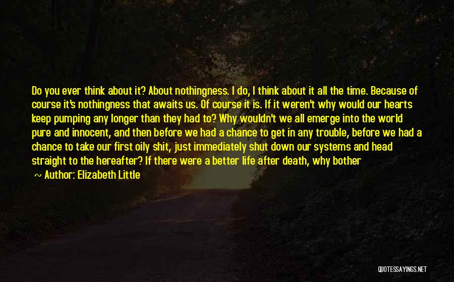 Death Head Quotes By Elizabeth Little