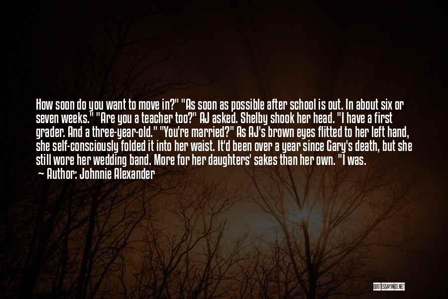 Death Head Quotes By Johnnie Alexander
