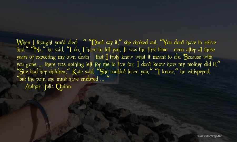 Death Head Quotes By Julia Quinn