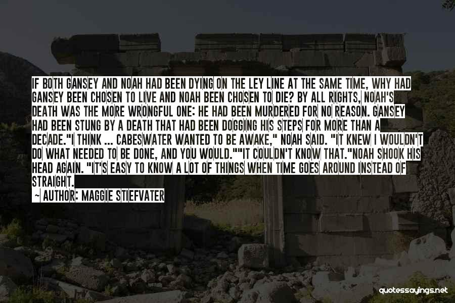 Death Head Quotes By Maggie Stiefvater
