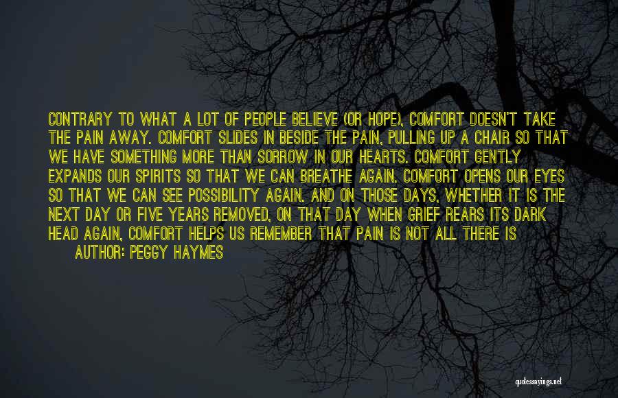 Death Head Quotes By Peggy Haymes