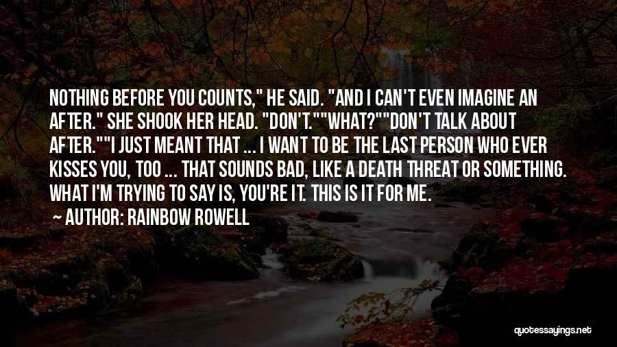 Death Head Quotes By Rainbow Rowell