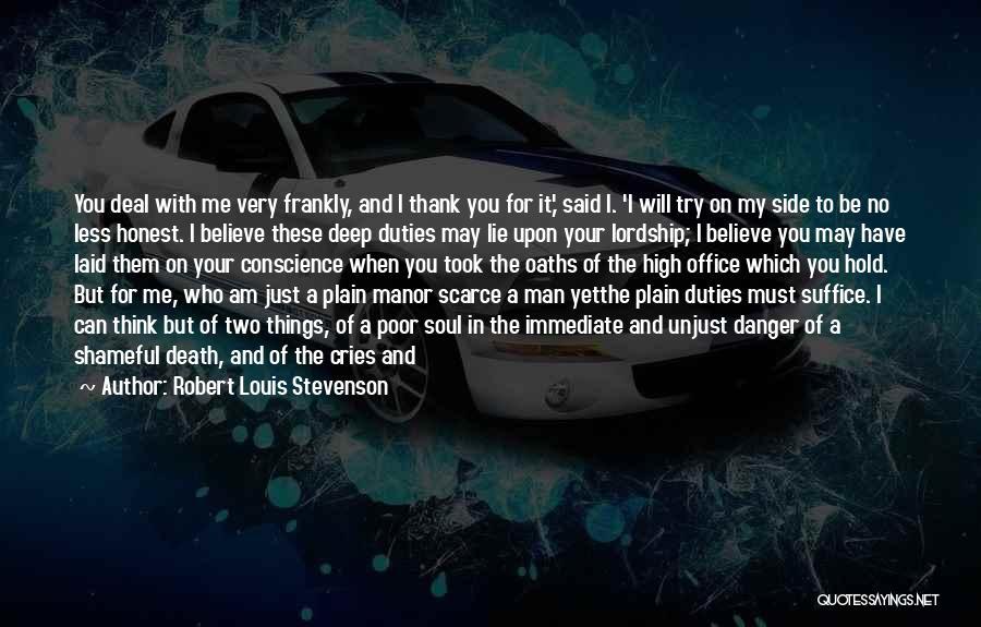 Death Head Quotes By Robert Louis Stevenson