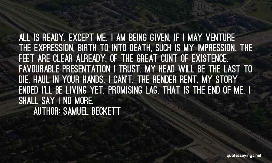 Death Head Quotes By Samuel Beckett