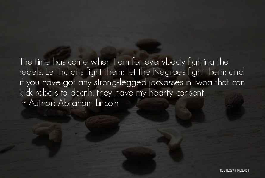Death In War Quotes By Abraham Lincoln
