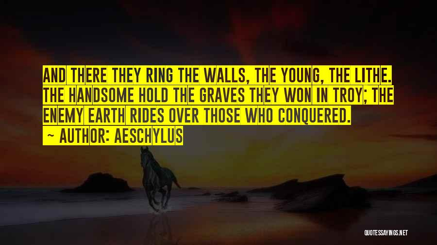 Death In War Quotes By Aeschylus