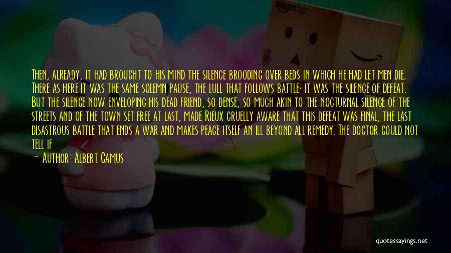 Death In War Quotes By Albert Camus
