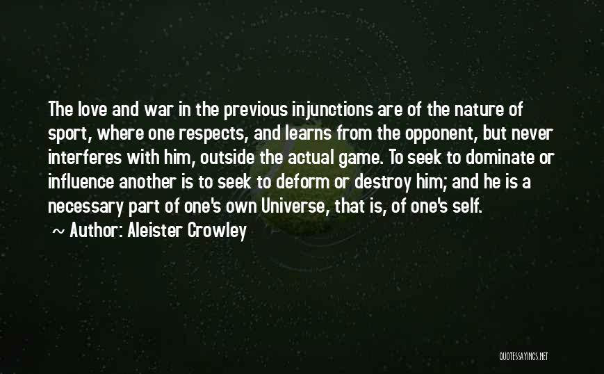 Death In War Quotes By Aleister Crowley