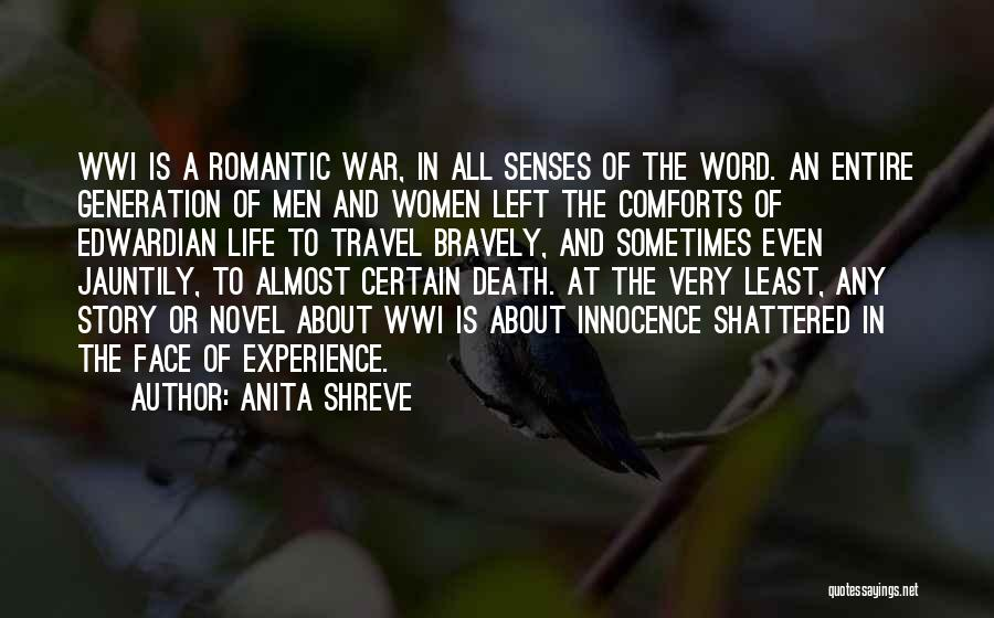 Death In War Quotes By Anita Shreve