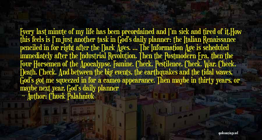 Death In War Quotes By Chuck Palahniuk