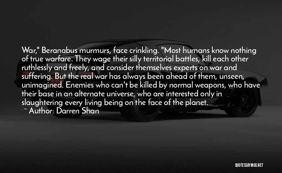 Death In War Quotes By Darren Shan