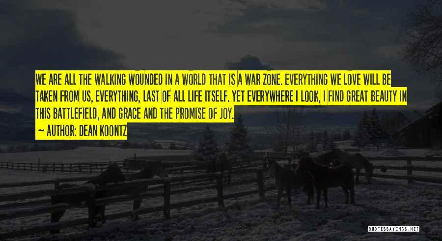 Death In War Quotes By Dean Koontz
